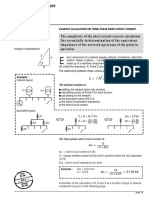 Calculation for Three-phase Short-circuit Current