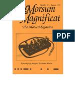 Morsum Magnificat-MM41