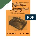 Morsum Magnificat-MM42
