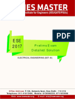 Ese 2017 Prelims Electrical Engineering Question Paper Solution