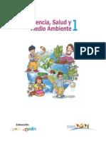Ciencia Salud Y Medio Ambiente 1 - Libro de Texto - Coleccion Cipotas Y Cipotes