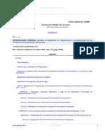Leg_Decreto Num. 85-2004, Organizacion y Funcionamiento Comision Provincial de Valoracion