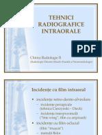 05 Tehnici Radiografie Intraorala v1a