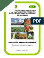 00 Costos de Producción de Los Principales Cultivos de Áncash