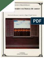 07 B. Pirandello, Luigui - Seis Personajes en Busca de Actor