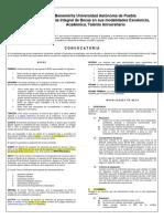 Convocatoria Becas Institucionales Otono 2014