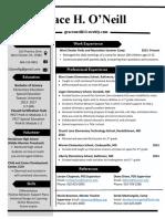 classy resume final