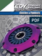 Exedy Sports Catalog