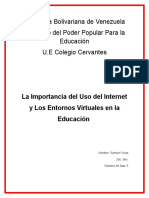 La Importancia Del Internet (1)