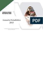 Anuario Estadistico UAM 2015
