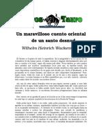 Wackenrder, Wilhelm Heinrich - Cuento Oriental De Un Santo Desnudo.doc