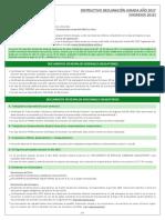 Instructivo Declaracion Jurada 2017