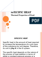 Especific Heat