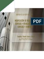 Modificacion Vida Util Edificios Revaluacion Edificios Terrenos