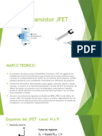 Transistor JFET