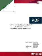 Informe de Laboratorio Industrial - Temperatura