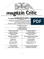 MAGAZIN CRITIC NR.49