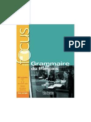 Focus Grammaire Livre Corriges 233 Radioamateur Radio