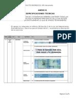 5.8 Anexo 8 Especificaciones Tecnicas