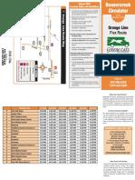 Orange Flex Route Schedule 12-19-16