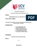 Proceso Constructivo (Trabajo Final - UCV)