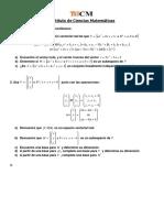 Ejercicios Miscelaneos algebra lineal