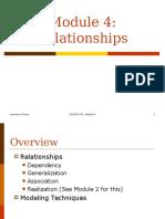 Module04 UML Ch5 Relationships