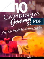 eBook Top 10 Caipirinhas Gourmet 2017