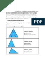El Triangulo en Geometria