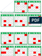 Cart Ones Bingo