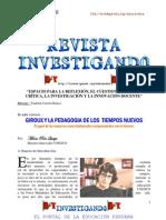 GIROUX Y LA PEDAGOGIA DE LOS  TIEMPOS NUEVOS