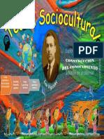 Cartel sobre el Enfoque Sociocultural