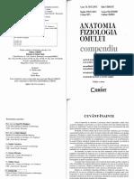 Anatomia Si Fiziologia Omului. Compendium