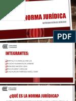 La Norma Jurídica