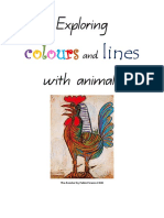 The Arts_Teacher Handbook_Exploring Colours and Lines With Animals