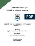 Deber 1 - Revolucion Industrial - Gestion de Procesos Industriales