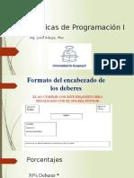 Introducción a Las Técnicas de Programación