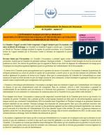 Bulletin d'Informationhebdomadaire Bureau Du Procureur 20 Au 26 Juillet #47
