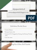 Pipa Rokok Cangklong Kayu
