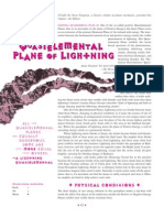 Planescape - The Quasielemental Plane of Lightning