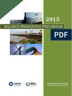 Balance Preliminar 2015