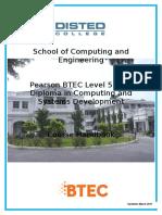 Btec Handbook Sce