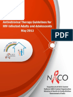 Antiretroviral Therapy Guidelines for HIV-Infected Adults and Adolescents