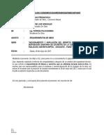 Informe Nº 002-2017 - Requerimiento de Utiles Escritorio Herramientas