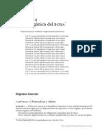 Carta Organica Del BCRA Ley 24.144. Año 2016.