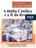 A Bíblia Católica e a Fé Do Devoto-Édino Melo - FERRAMENTA