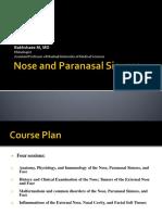 Nose and Dr Bakhshayi