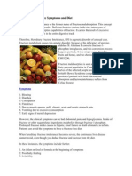 Fructose Intolerance Symptoms and Diet