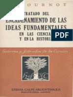 A Cournot - Tratado Del Encadenamiento de Las Ideas