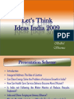 Let's Think Ideas India 2009